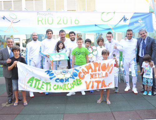 Rio 2016: Ospedale Pediatrico Bambino Gesù e Accademia Scherma Lia al servizio dei bambini autistici