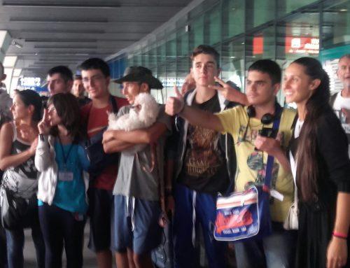 Il ritorno da Rio degli spadaccini autistici