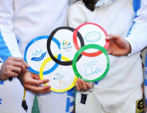I ragazzi dell'accademia scherma Lia sono in partenza per Rio